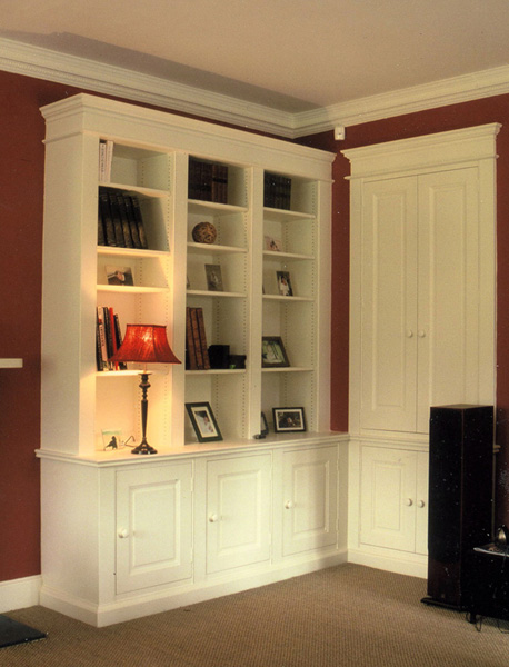 John Salmon Fitted Furniture Office Study